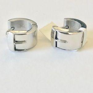 Jewelry - Stainless Steel Huggie Hoop Earrings